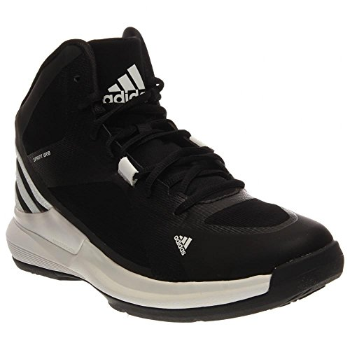 Adidas Crazy Strike Womens Basketball Shoes 5 Black-White