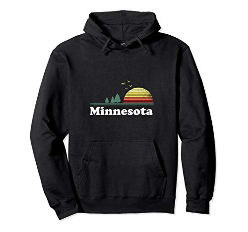 Retro Minnesota Grown Minnesota Home Hoodie