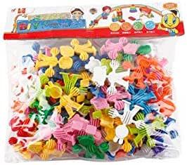 Pupils Animal Shape Blocks Plastic Blocks Assembled Baby Children's Educational Toys 3 Years Old