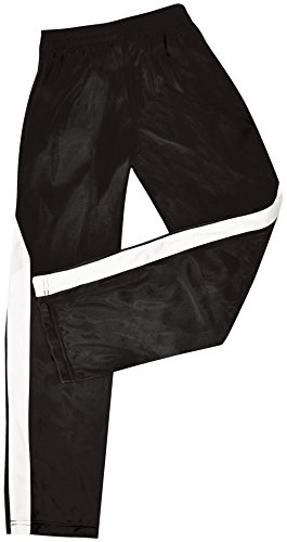 Nova Poly Tricot Warm-Up Pants Black Youth Large