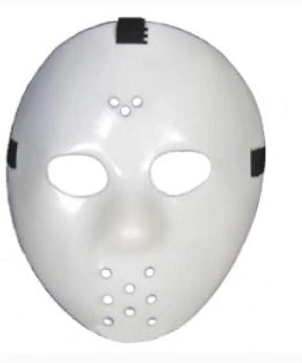 Amazon Com Forum Novelties Glow In Dark Hockey Mask Assorted Colors Toys Games
