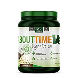 At About Time, we know our customers care about what goes into their bodies. That's why we've developed an all natural vegan protein formula designed to taste great and cater to your vegan lifestyle.