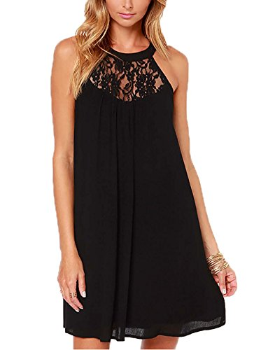 Buy black lace dress under 50 - 7