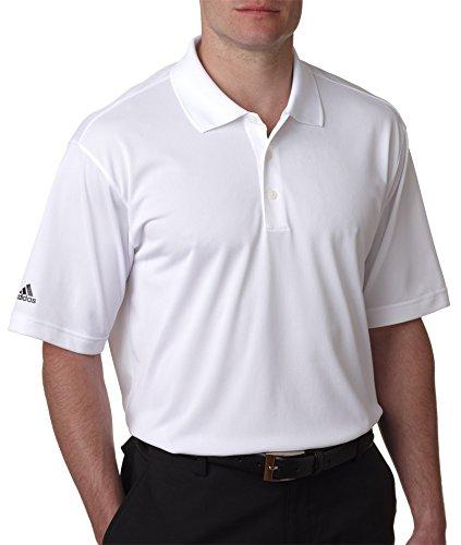 adidas Golf Mens Climalite Basic Short-Sleeve Polo Shirt