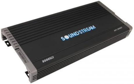 NEW Soundstream AR1.8000D 8000 Watts Mono Class D Subwoofer Amplifier BASS AMP