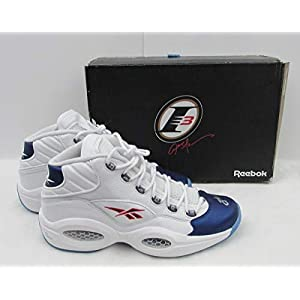 Allen Iverson 76ers Signed Reebook Question NEW NWT w/Box Shoes JSA 136216