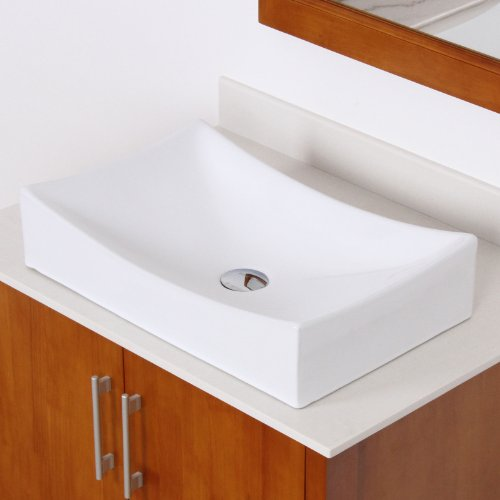 long rectangular bathroom sink lovely elite bathroom rectangle white ceramic 19312
