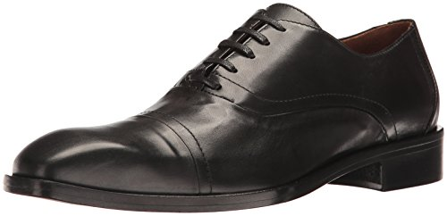 Donald J Pliner Men's Valerico Oxford, Black Calf, 8 M US Italy Calf Mens Dress Shoes