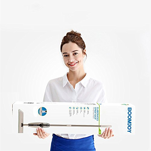 MangGou Microfiber Floor Mop, Professional 360 Degree Microfiber Spray Mop Kit, Handle Cleaning Mop with Hybrid Carbon Microfiber for House, Kitchen, Hardwood, Tile Floor Cleaning by MangGou (Image #7)