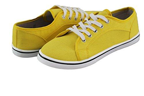 Zapatillas para Amarillo Material Mujer brandsseller Amarillo Sintético de vqRwdvngS