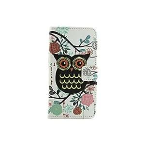 SHOUJIKE Black Owl Pattern PU Leather Full Body Cases for Samsung Galaxy A3