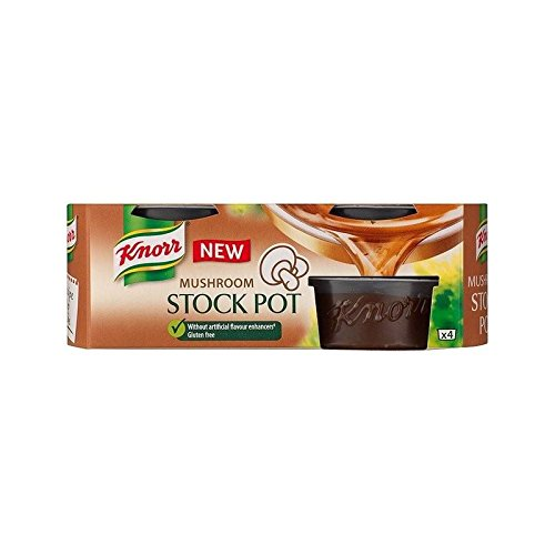 Knorr Mushroom Stock Pot 4 x 28g - Pack of 2 ()