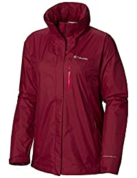 Columbia Pouration - Chamarra Impermeable para Mujer