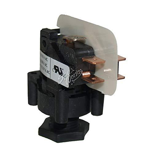 (Hot Tub Classic parts Cal Spa Latching Air Switch, TDI DPDT 20AMP TECTBS317)