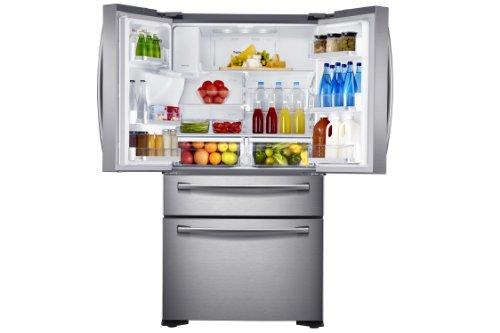Amerikanischer Kühlschrank French Door : Samsung rf fsedbsr eg french door side by side a kühlen