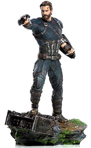 Iron Studios IS773296 1 10 Captian America BDS Kunstmaßstab Avengers  Infinity Wars, Mehrfarbig