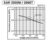 PneumaticPlus SAR2000M-N02BG Miniature Air Pressure