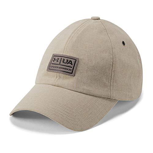 Under Armour Lightweight Hat - Under Armour Men's Performance Lifestyle Dad Cap, City Khaki (299)/Truffle Gray, One Size