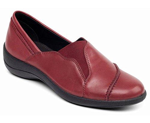 Vino Libre En Mujeres Anchura Padders Zapato Hecho Cuerno Gran 'ruth' Bretaña 30mm Del Talón Las De Cuero E w4Txtq48a