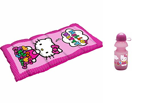 Hello Kitty Sleeping Bag and Water Bottle Gift (Kitty Sleeping Bag)