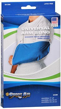 Sport Aid Arm Sling - Universal - 1 Each, Pack of 4 by SportAid