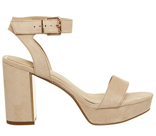Rose With Sandals Palte Gold Mossy Platform Office Nude ISTxw7XBq