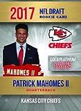PATRICK MAHOMES II 2017 2018 NFL GOLD PLATINUM