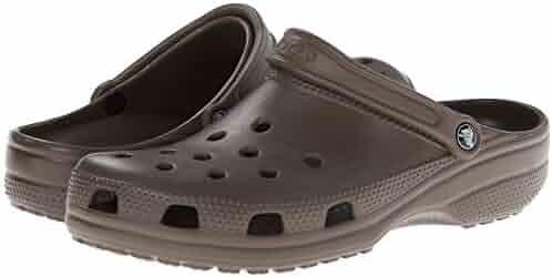 Crocs Unisex Classic Clog, Chocolate, 4 US Men/6 US Women
