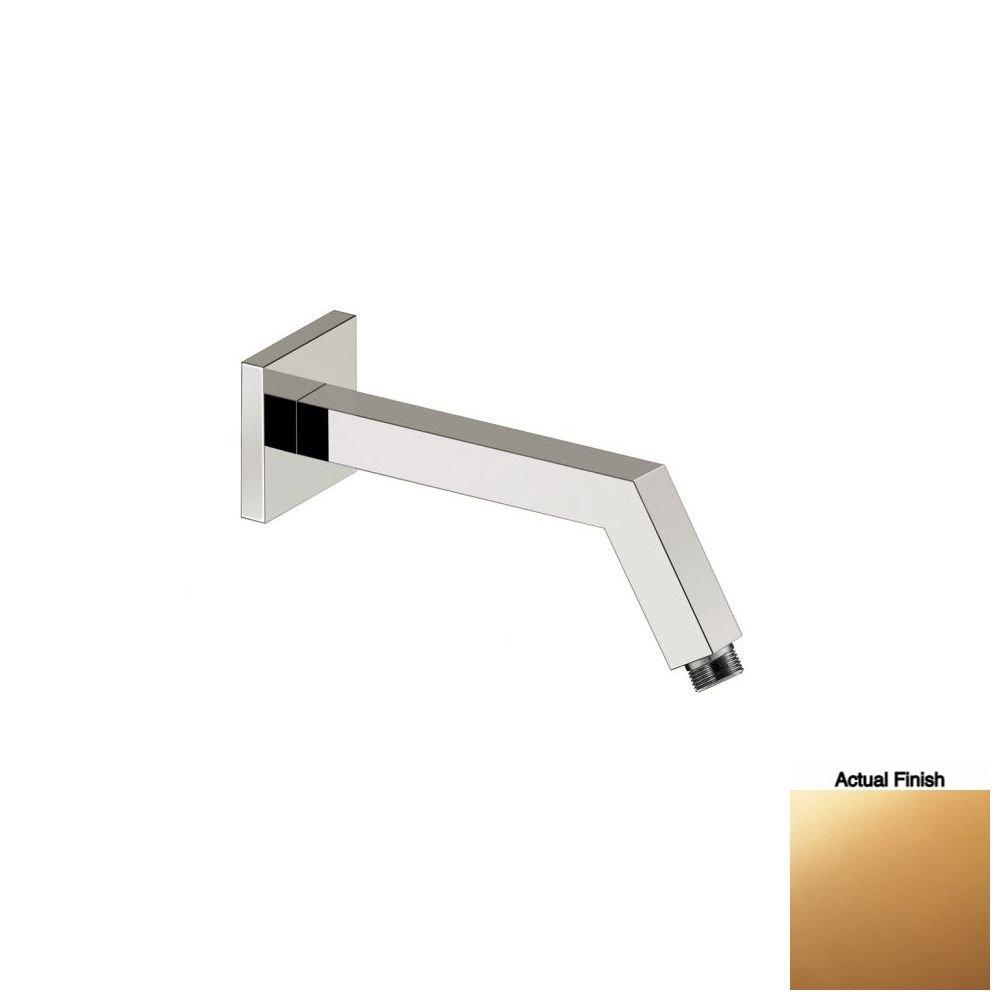 Aquabrass 8201-500 Gold Square Shower Arm & Flange durable modeling