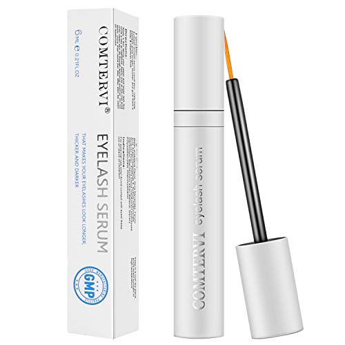 MayBeau Eyelash Growth Serum,Natural Brow Lash Enhancer,Nourish Damaged Lashes and Boost Rapid Growth for Any Kind of Lash and Brow