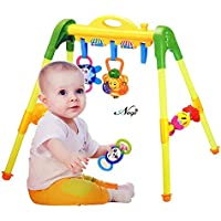 RockPresent Gym Children Activity Baby Activity Play Gym with Rattles Hanging Activities Toys for Baby (Children Gym Activity)