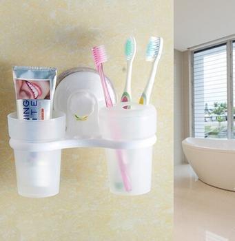 zmm fuerte Baño para la pared Cepillo de dientes portavasos lavar Color Crema: Amazon.es: Hogar