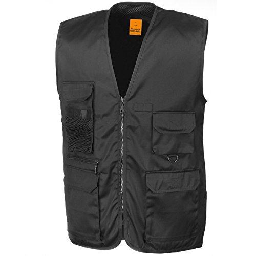 Result Mens Safari Waistcoat Outerwear