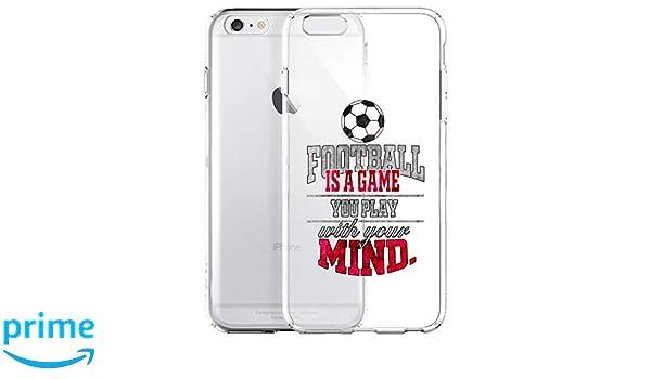 GlamCase - Carcasa para iPhone 6 y 6S, diseño de balón de fútbol ...