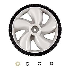Amazon Com Arnold 12 Inch Plastic Wheel For Walk Behind