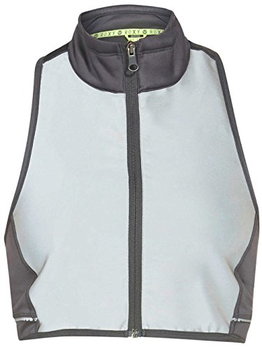 Roxy Outdoor Fitness Juniors Get Glowing Reflective Vest, Titanium, Small