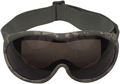 ACU Digital Camouflage Windstorm Sand Protection Tactical Desert (Acu Digital Desert Goggles)