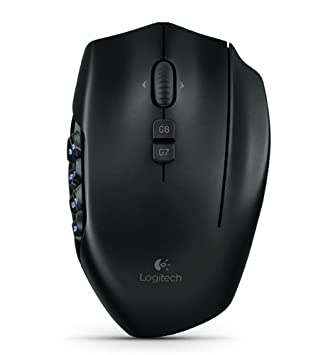 7462f9a9da5 Logitech G600 MMO USB Gaming Mouse - Black: Amazon.co.uk: PC & Video Games