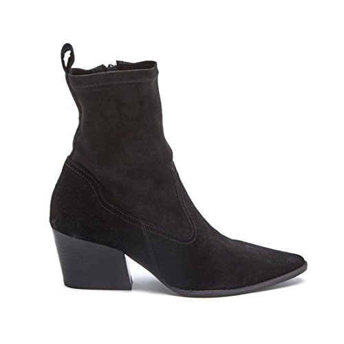 Diego Di Lucca Flash Pull-on Ankle Bootie 557-777 Black