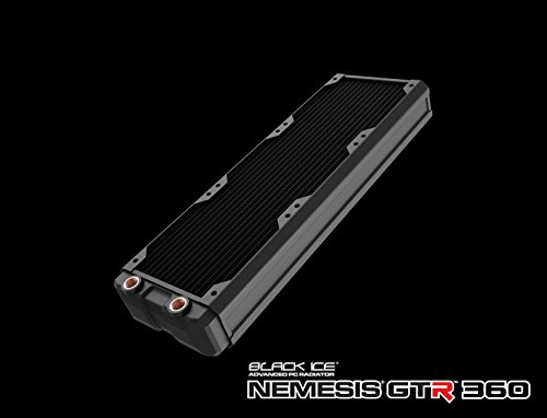 Black Ice HWL-R119 Nemesis GTR 360 mm Radiator - Black