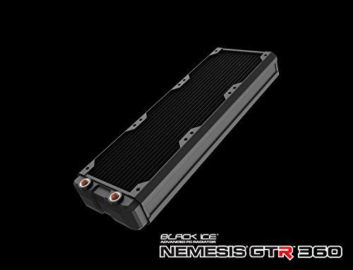 Black Ice HWL-R119 Nemesis GTR 360 mm Radiator - Black ()