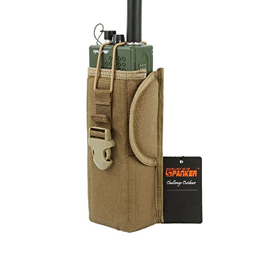 Vest Radio Pouch - EXCELLENT ELITE SPANKER Outdoor Molle Equipment Radio Pouch(Coyote Brown)