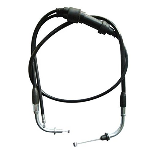 JRL Throttle Accelerator Cable Line for Yamaha PW 80 BW Assembly Dirt Pit Bike generic