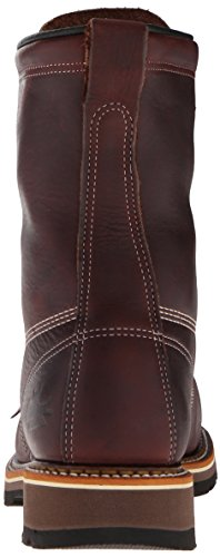 Boot Black Lace Safety Heritage Men's Inch 8 Thorogood up Walnut Toe American wzvaax
