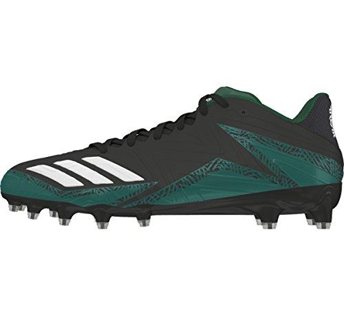 Adidas Carbonio Nucleo Minima Degli Uomini Tacchetto Calcio Maniaco X Nero-bianco-verde Scuro