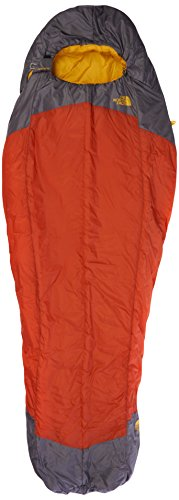 The North Face Lynx Regular Right Hand Sleeping Bag - Orange/Grey/Orange Rust/Zinc Grey