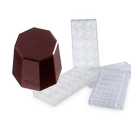 Molde de policarbonato para hacer bombones MA1350