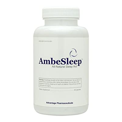 Ambesleep - Sleep Aid - Over the Counter Sleep Aid - Best Sleeping Pills - Get a Healthy Nights Rest