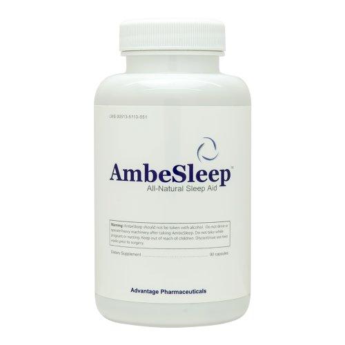 Ambesleep - Sleep Aid - Over the Counter Sleep Aid - les meilleurs somnifères - Obtenez un Nuits santé Rest