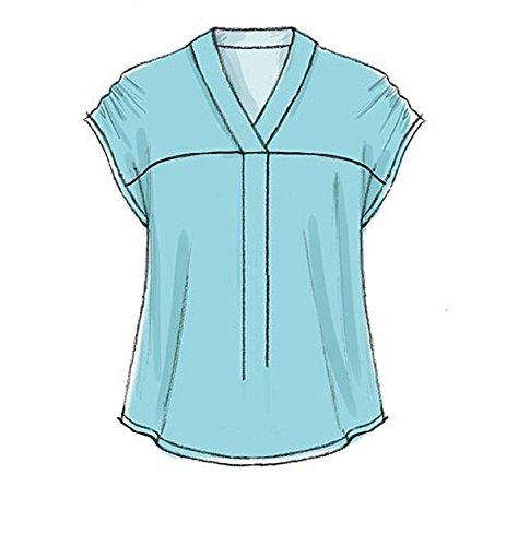 Amazon.com: McCall\'s Patterns M7359 Misses\' V-Neck Dolman Sleeve ...